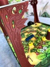 Suporte da cobertura do tabuleiro do jogo infantil Spinderella