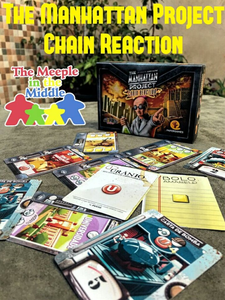 Jogo de cartas The Manhattan Project Chain Reaction