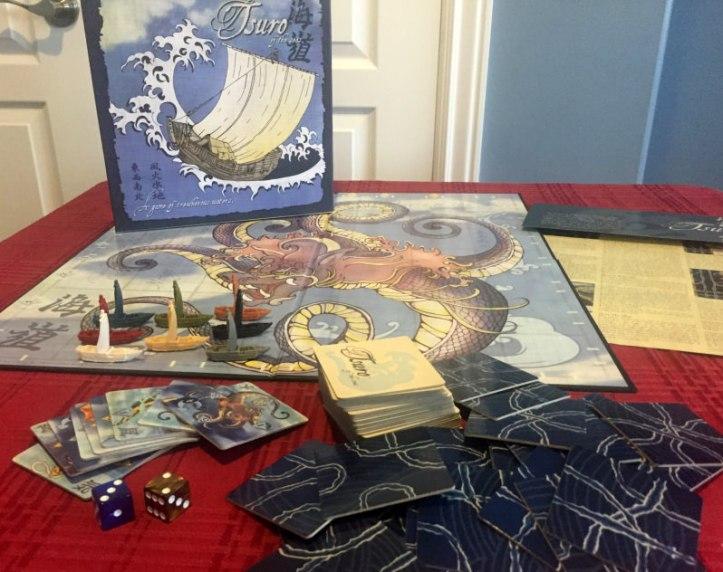 Jogo de tabuleiro Tsuro of the Seas