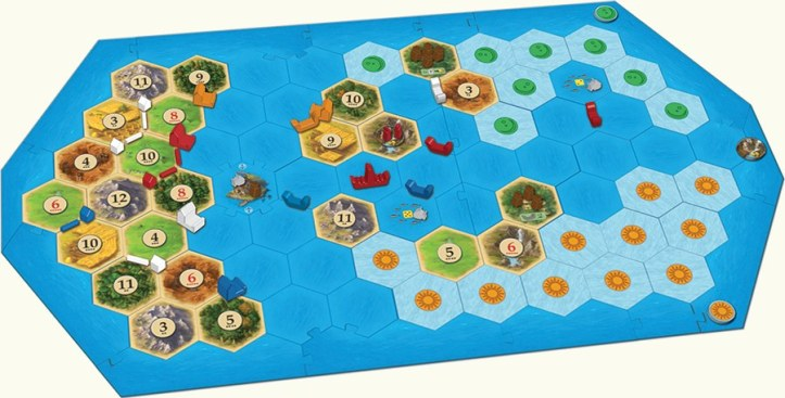 Expansão Catan - Navegadores
