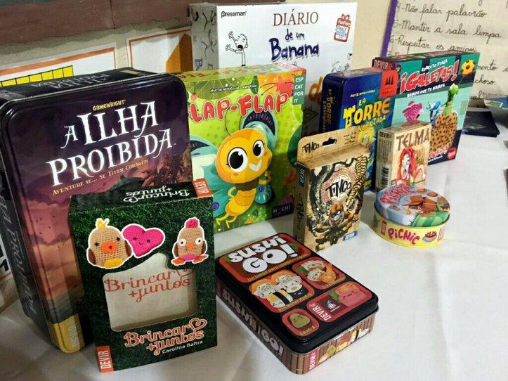 Jogos festa da Família Escola Cristã Jardim das Oliveiras