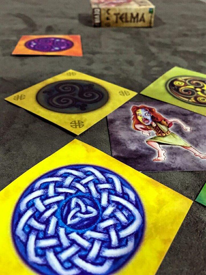 Cartas do jogo de Cartas TELMA