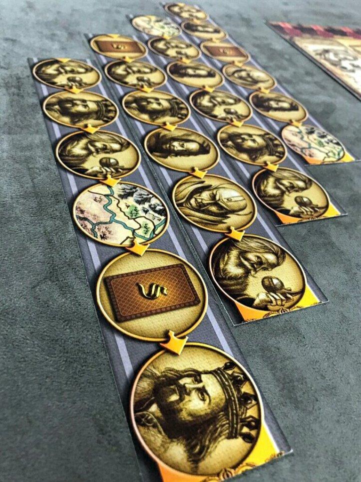 Trilhas adicionais do jogo de tabuleiro Shazam