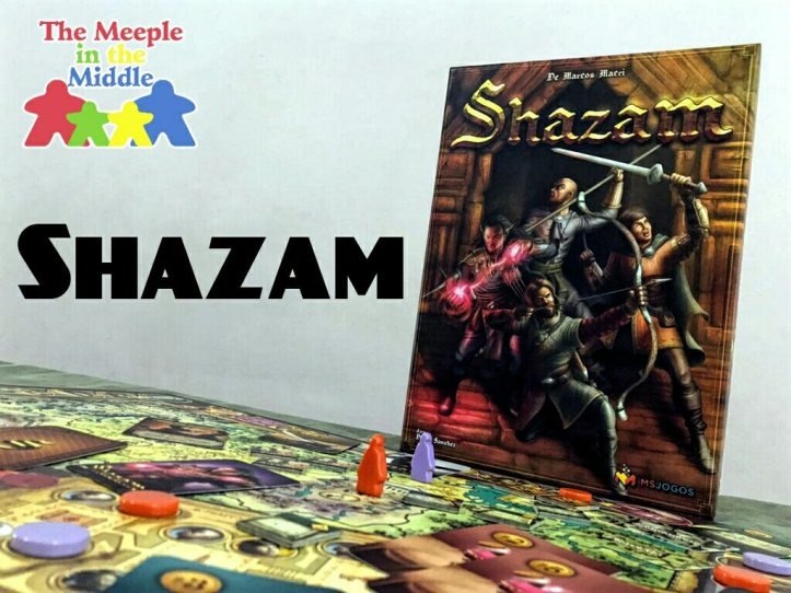 Jogo de tabuleiro Shazam