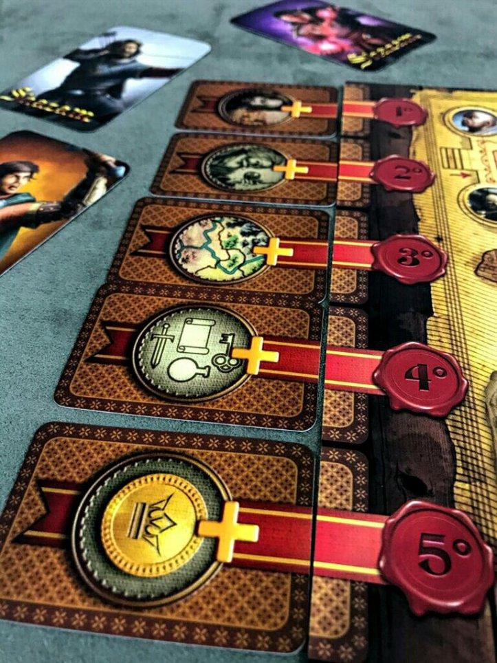 Critérios de desempate do jogo de tabuleiro Shazam