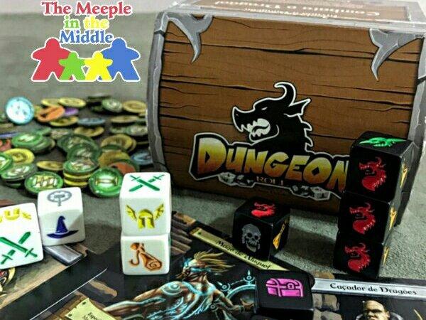 Jogo de tabuleiro Dungeon Roll