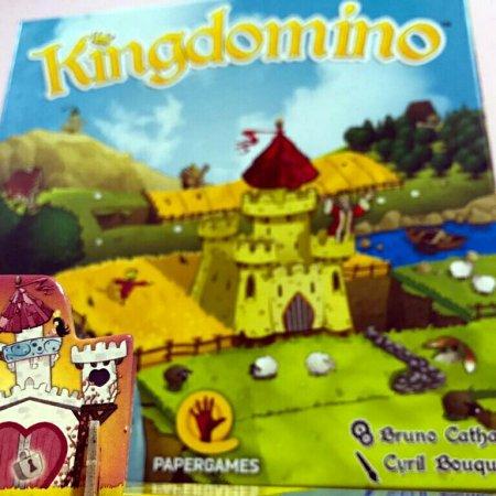 Jogo de tabuleiro Kingdomino