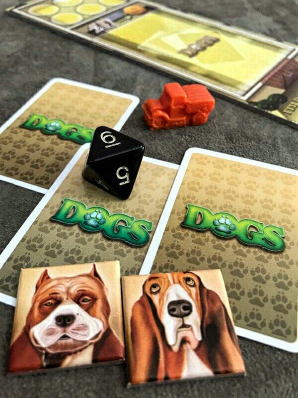 Novas raças da expansão Dogs: O Sócio
