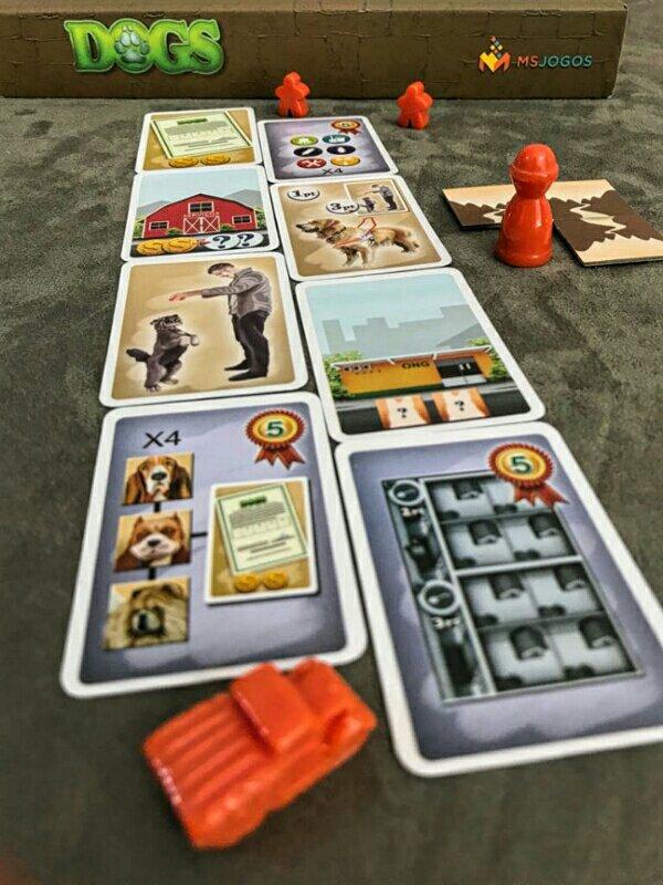 Novas cartas da expansão Dogs: O Sócio