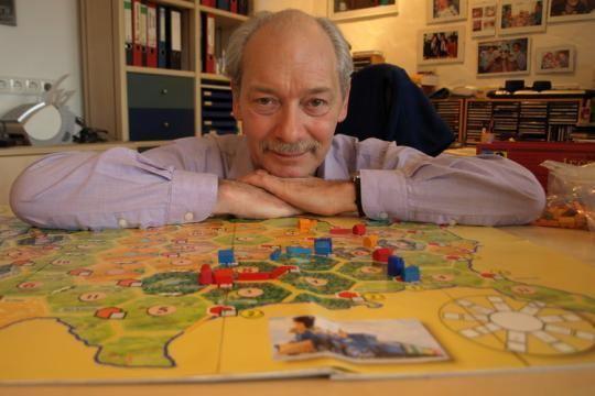 Klaus Teuber criador de CATAN