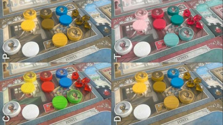 Acessibilidade jogo de tabuleiro Istanbul