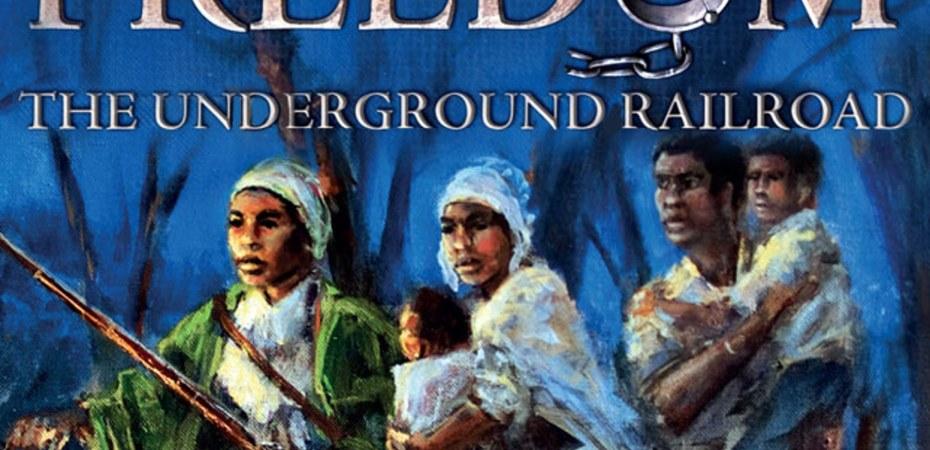 Jogo de tabuleiro Freedom The Underground Railroad