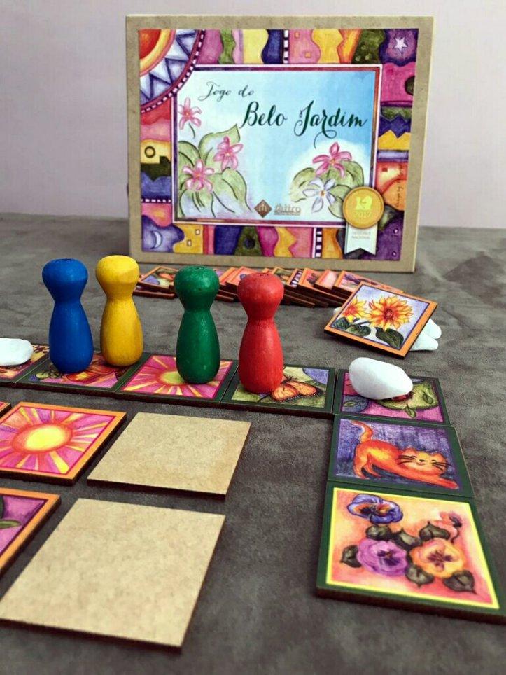 Jogo de tabuleiro infantil o Belo Jardim