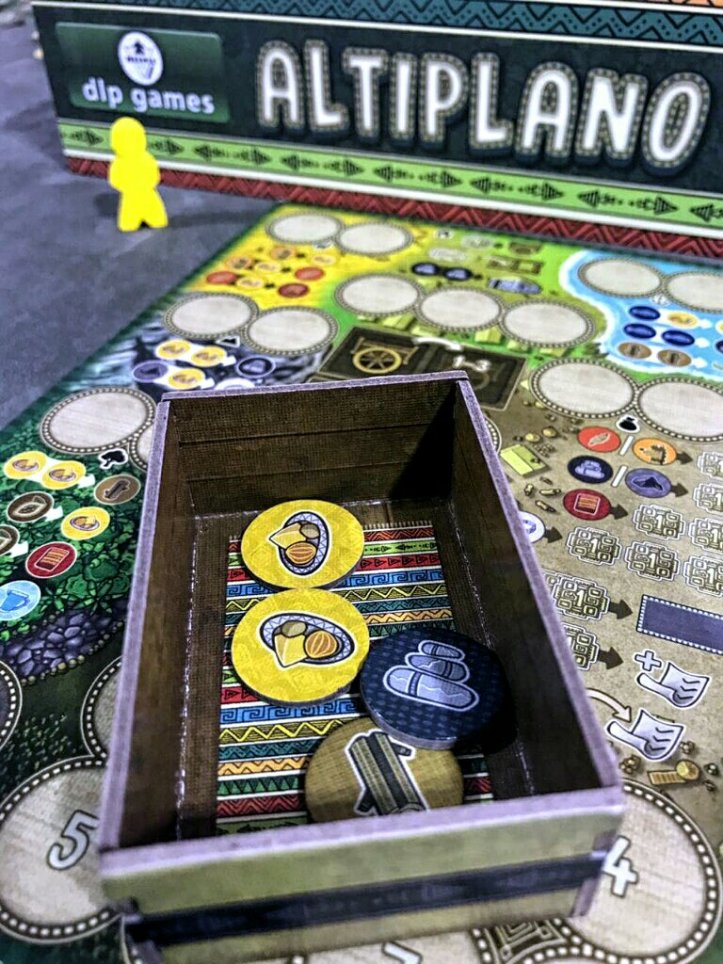 Jogo de tabuleiro Altiplano