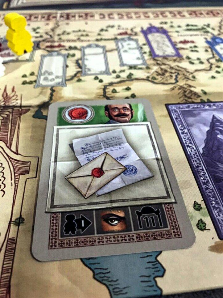Cartas de ação do jogo Miguel Strogoff