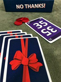 Será esse 35 uma boa idéia no jogo de cartas No Thanks!