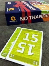 Uma sequência no jogo No Thanks!