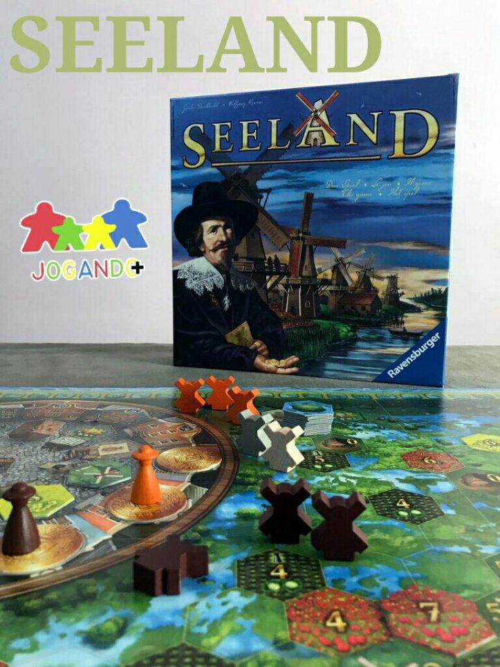 Jogo de tabuleiro Seeland