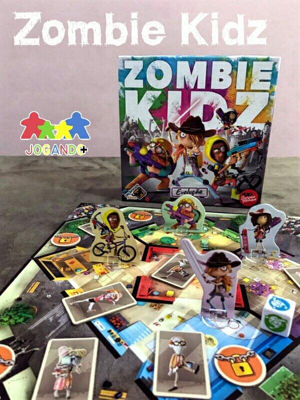 Jogo de tabuleiro infantil Zombie Kidz