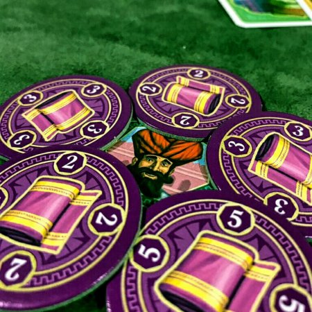 Mercadorias do jogo de tabuleiro Jaipur
