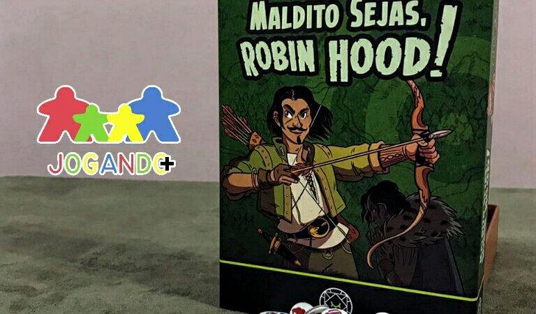 Jogo de cartas Maldito Sejas Robin Hood