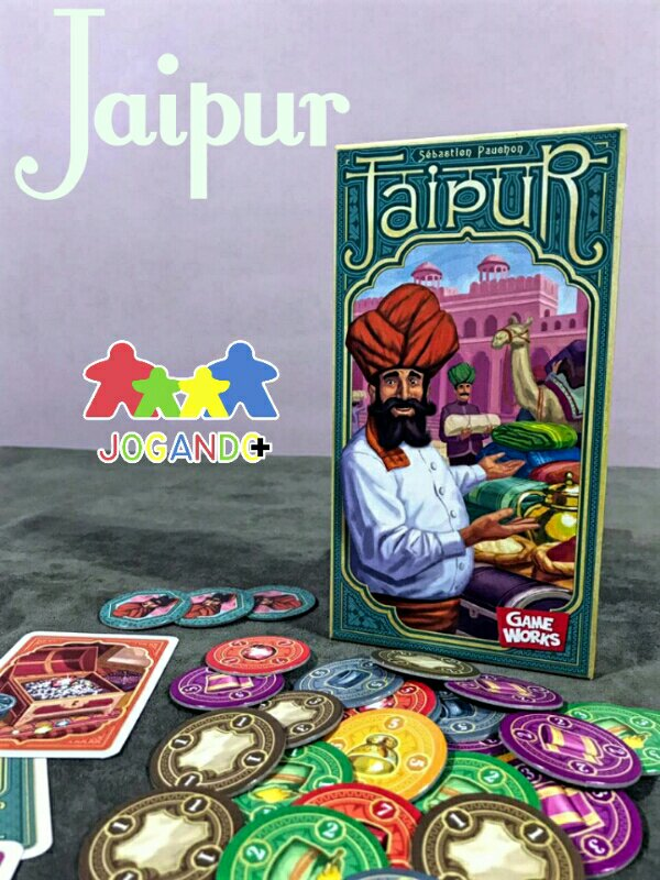 Jogo de tabuleiro Jaipur