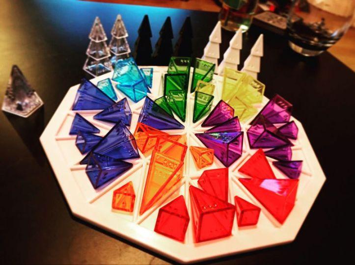 Jogo de tabuleiro Color Wheel