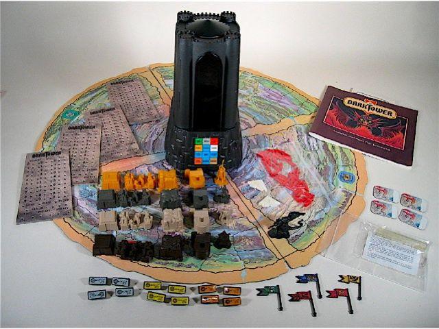 Jogo de tabuleiro Dark Tower