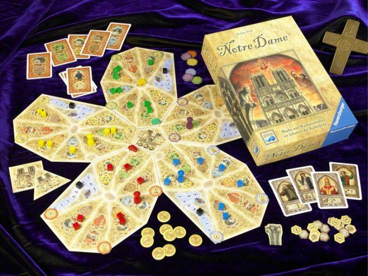 Jogo de tabuleiro Notre Dame