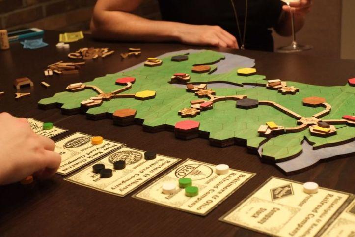 Jogo de tabuleiro Railroads
