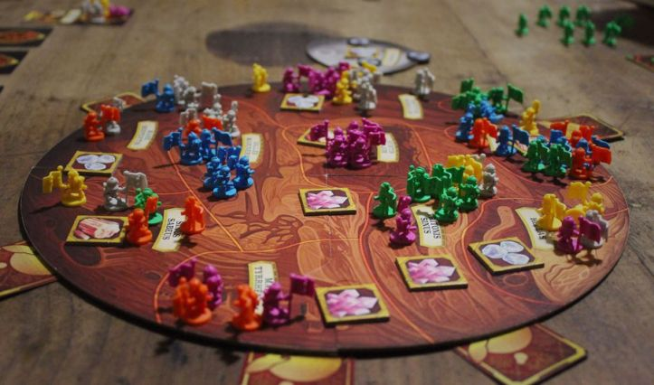Jogo de tabuleiro Red Planet