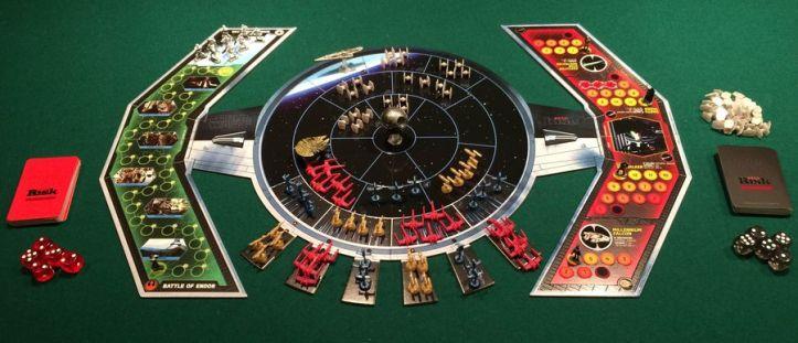 Jogo de tabuleiro Risk Star Wars Edition