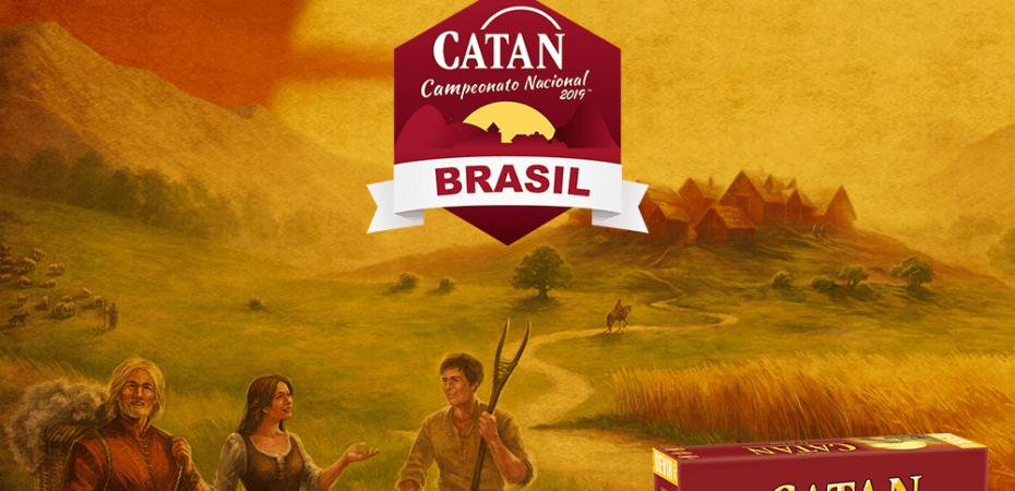 Vem ai o torneio nacional de CATAN, participe