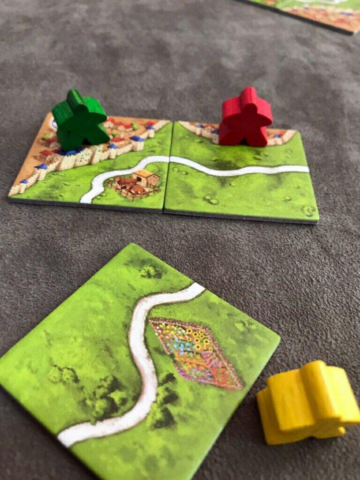 Estradas no jogo de tabuleiro Carcassonne