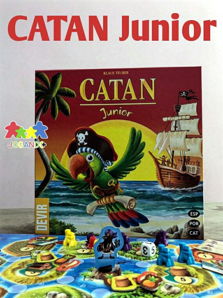 Jogo de tabuleiro infantil CATAN Junior