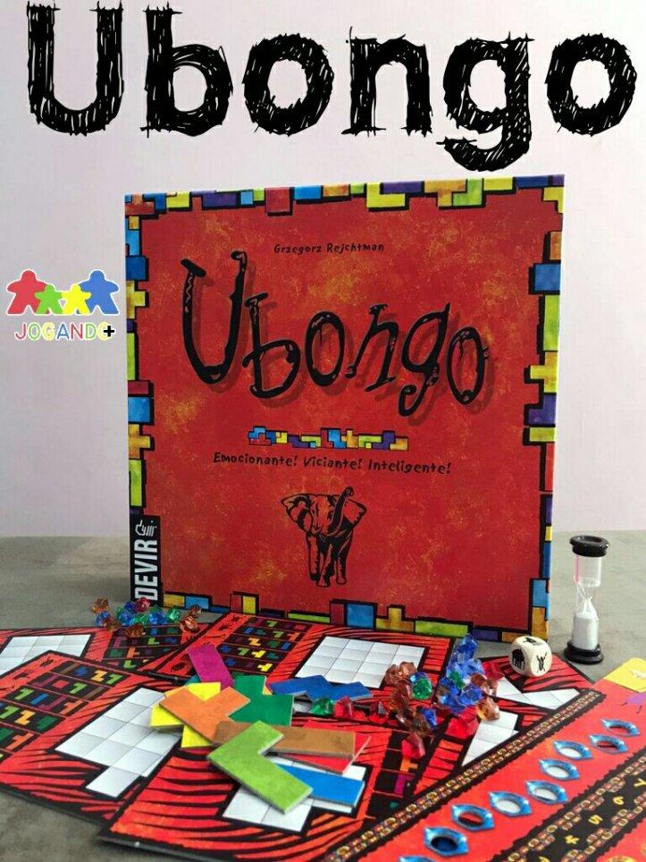 Jogo de tabuleiro Ubongo