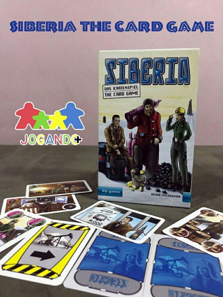 Jogo de cartas Siberia