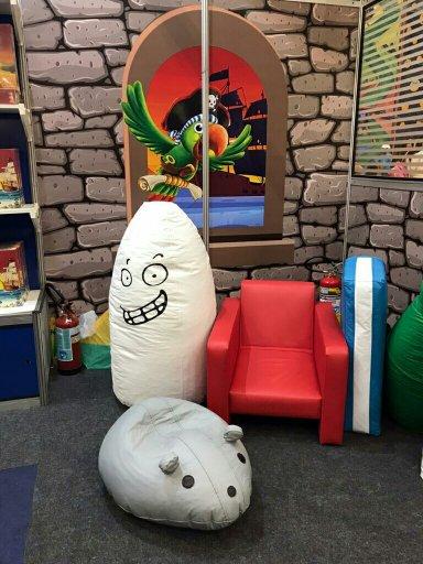 Evento Kids Festival SP Fantasma Blitz gigante
