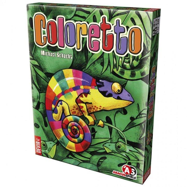 Jogo de cartas Coloretto