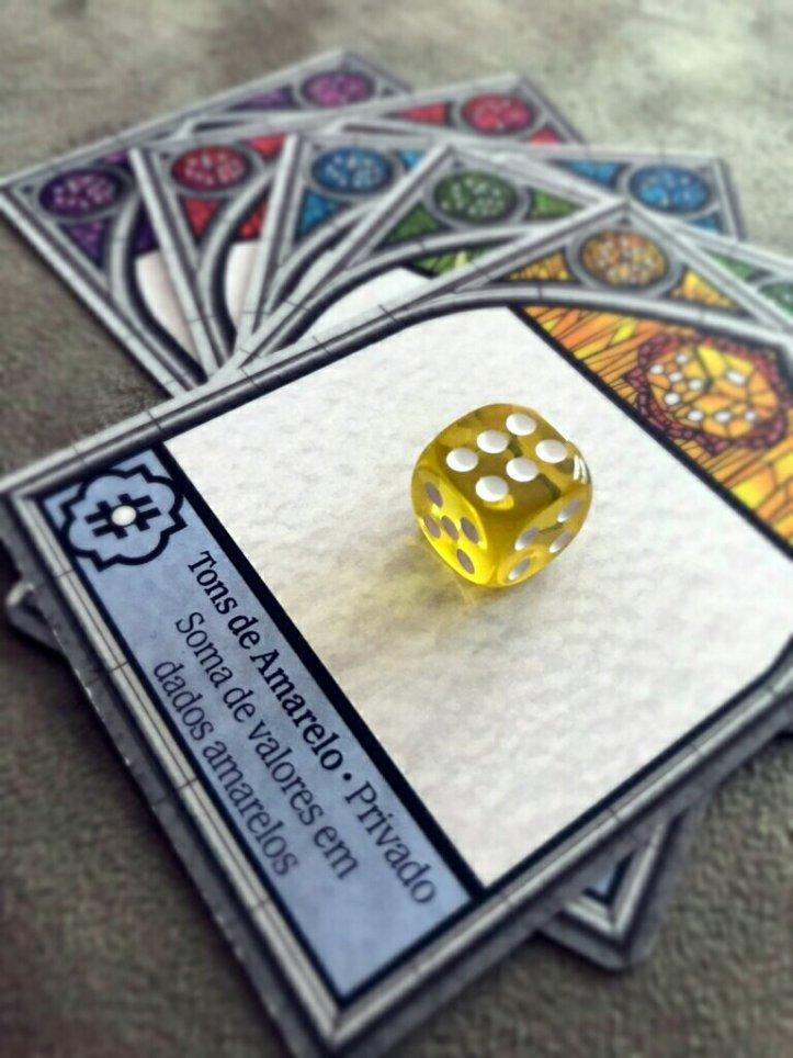 Jogo de tabuleiro Sagrada