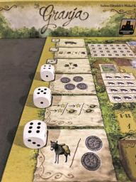 Jogo de tabuleiro La Granja