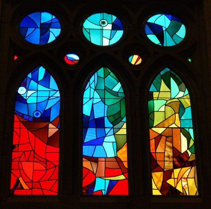 Vitrais Catedral Sagrada Familia