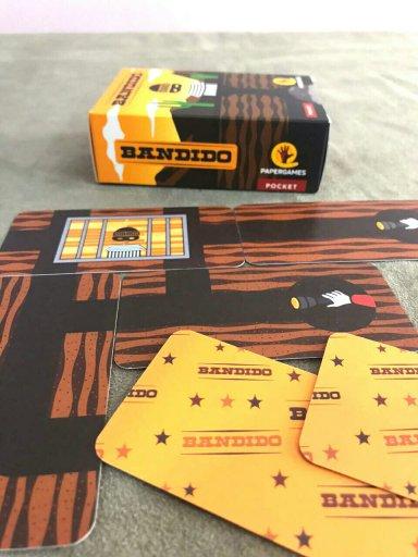Jogo de tabuleiro Bandido