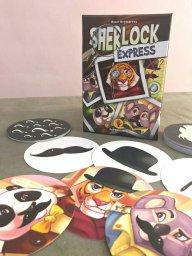 Jogo de tabuleiro Sherlock Express