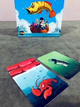 Jogo de tabuleiro Histórias de Pescador