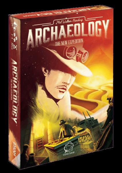 Jogo de tabuleiro Archaeology