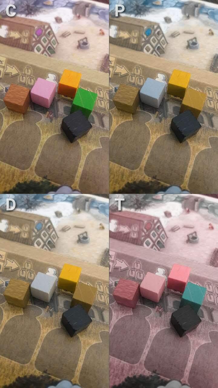 Acessibilidade jogo de tabuleiro Village