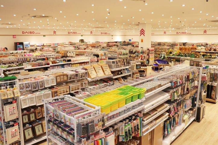 Idéias e acessórios, loja DAISO Japan