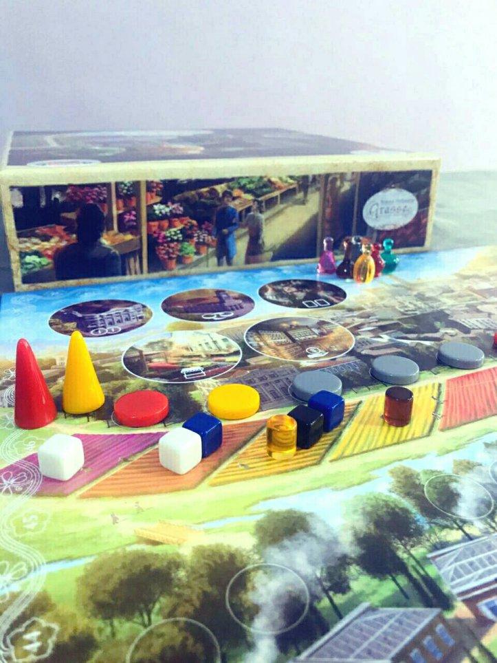 Jogo de tabuleiro Grasse