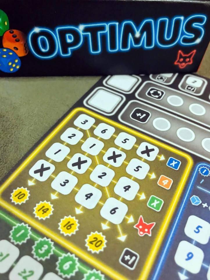 Jogo de tabuleiro Optimus